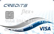 Credits Flex+ kredittkort